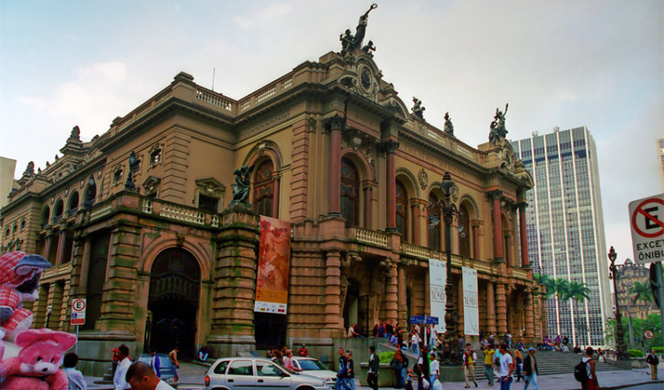Theatro Municipal São Paulo, Brazil
