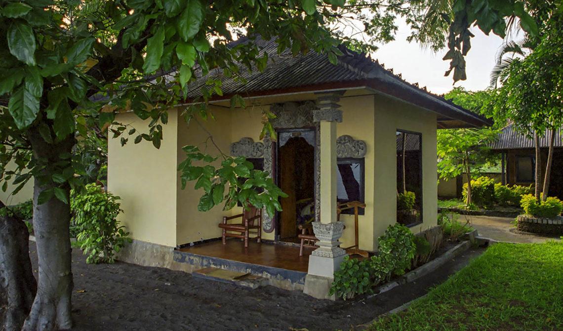 Bungalow på Hotel Kalibukbuk, Bali