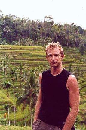 Risterrasser i Bali