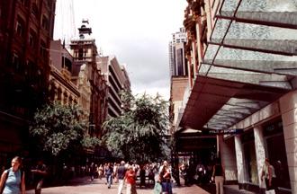 shoppinggata i Sydney