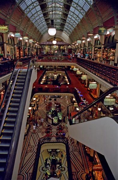 Shopping - Queen Victoria Building, Sydney