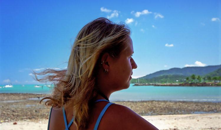 Vid Airlie Beach beachwalk