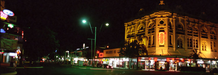 Kväll i Cairns