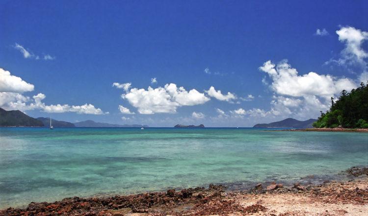 Tounge Bay, Whitsundays i Queensland