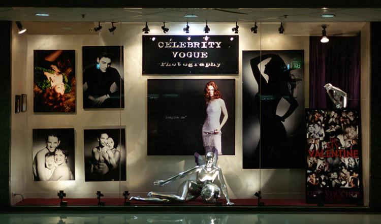 Entrén till fotostudion Celebbrity Vogue