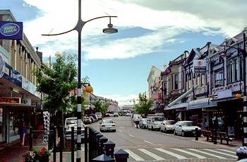 Stafford Street , Timaru stad