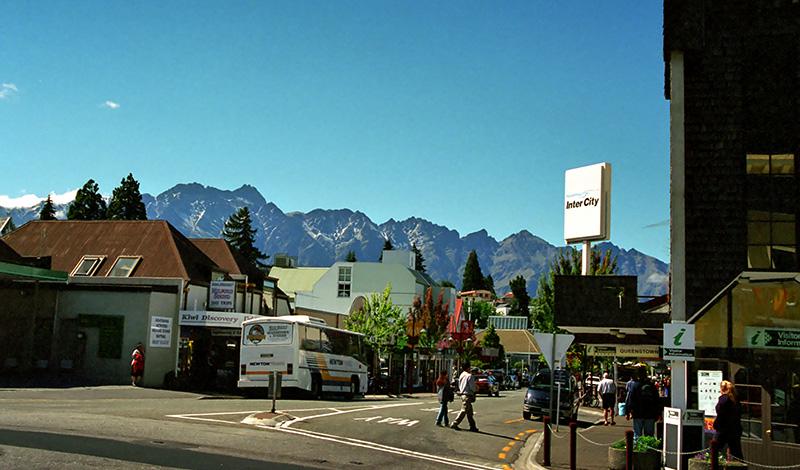 Queenstown centrum