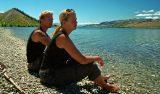 Anki & Lars vid Lake Wanaka