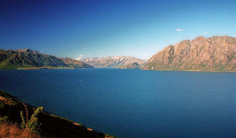 Lake Hawea, Nya Zeeland