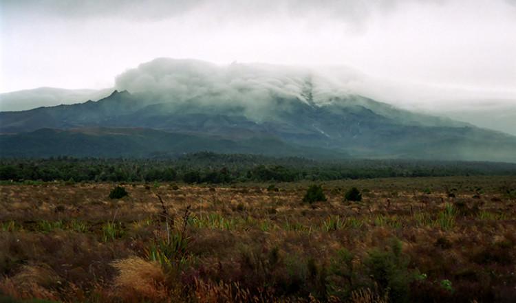 På väg till Tongariro