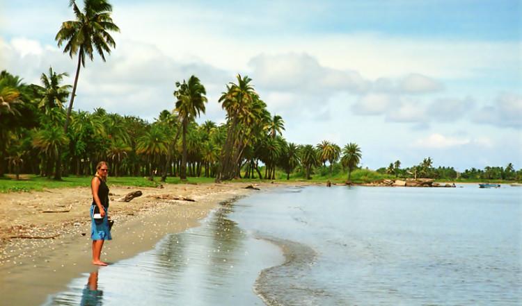 Wailoaloa Beach vid Nadi, Fiji