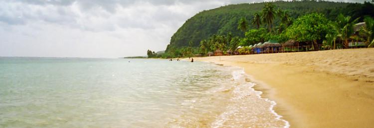 Lalomanu strand, Upolu Samoa