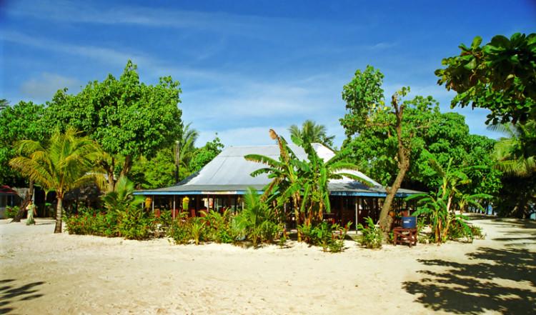 Huvudbyggnad, Tanu Beach Fales, Samoa