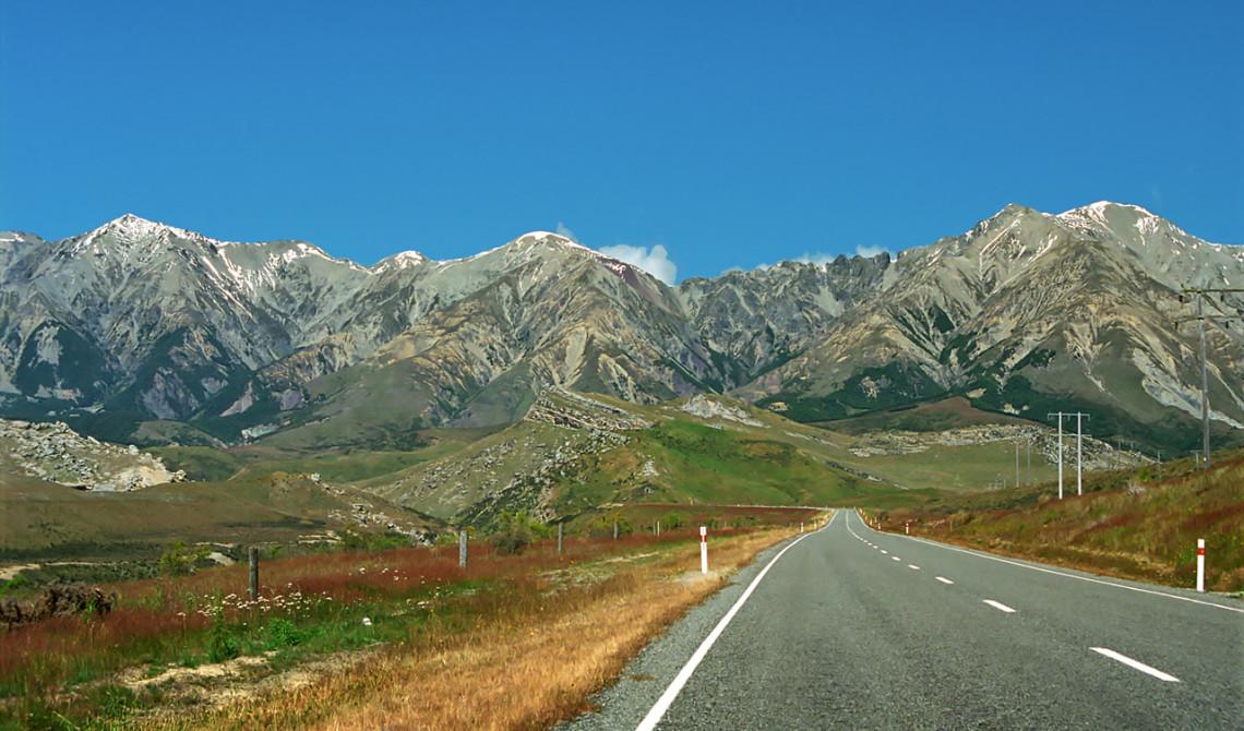 Arthurs Pass i Nya Zeeland