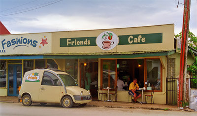 'Friends Cafe i Nukalofa, Tonga