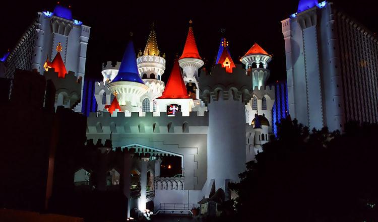 Excalibur Casino & Hotel, Disney liknande slott i Las Vegas