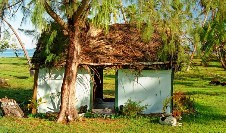Vår Fale på Taianas Beach Resort, Uoleva Tonga