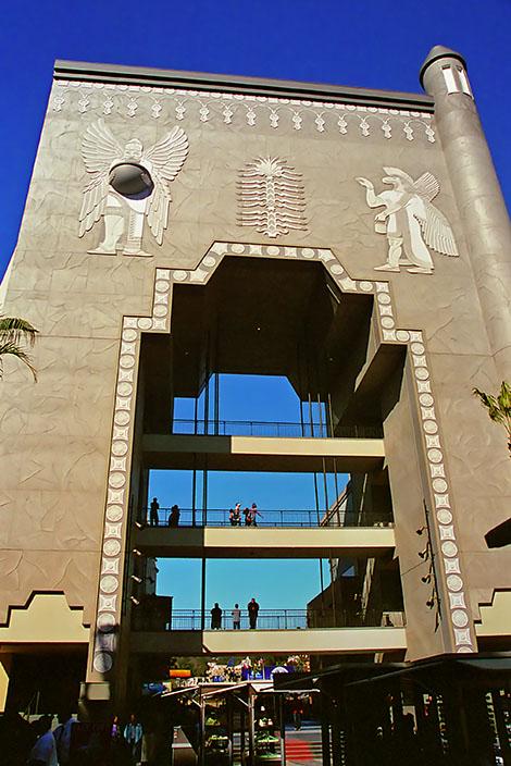 Portal vid Hollywood and Highland, en gigantisk portal
