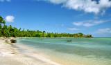 Strandliv på Nacula Island
