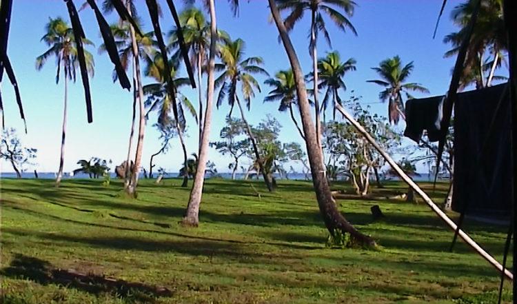Utsikt från Fale på Tianas Resort, Tonga