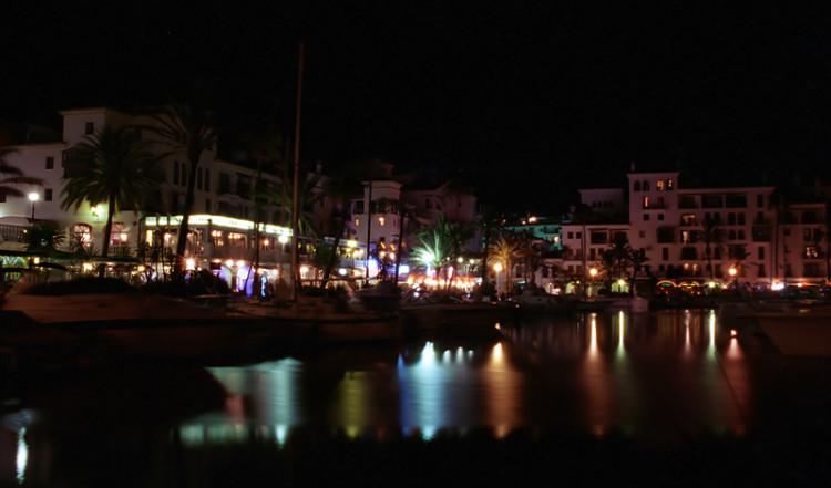 Puerto de la Duquesa evening