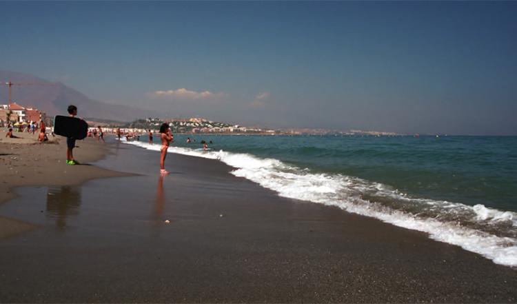 Sabinillas Beach, Spanien