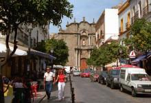 Gamla stan i Tarifa, Spanien