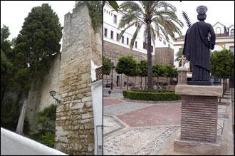 Stadsmuren samt torg i gamla stan, Marbella