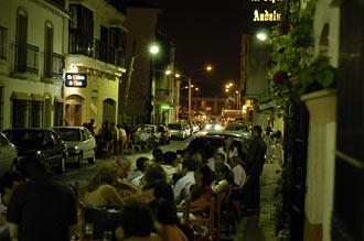 Uteserveringen på Tipico Andaluz