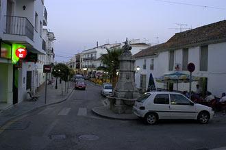 Huvudgatan i Manilva