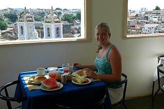 Frukost på Hotel Pelourinho