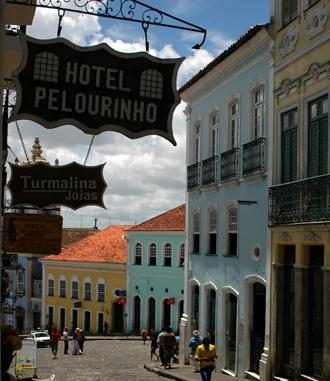 Gatan utanför Hotel Pelourinho