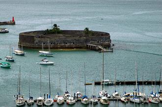 utsikt över fortet i Salvador