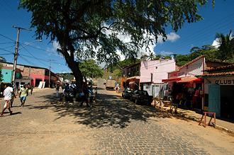 I Itacaré, nära buss-stationen