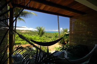 Utsikt från vårt rum på Pousada Mar a Vista