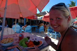 Lunch på Baracca de Jonas