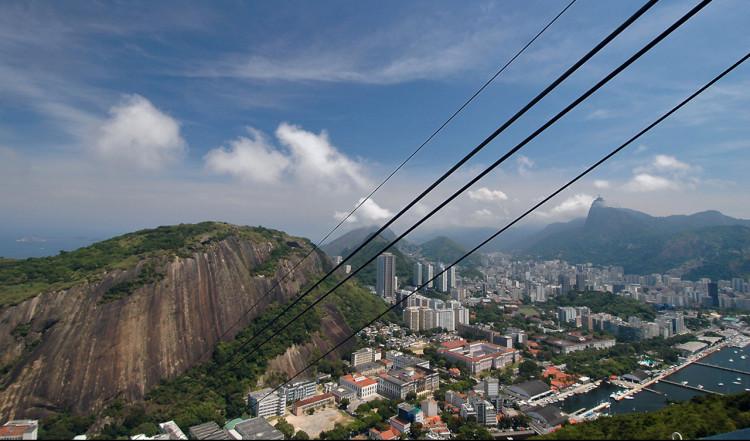 Linbana till Morro Da Urca, Rio de Janeiro