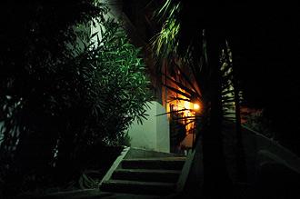 Monte Viñas by night