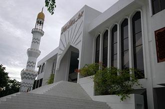 Den nyaste moskén i Male.