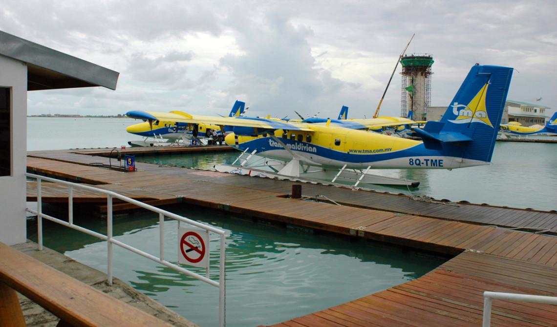 Trans Maldivian Airways pontonplan