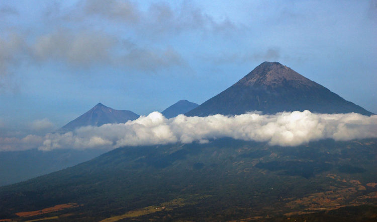Vulkaner i Guatemala