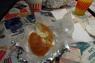 Typisk amerikansk frukost