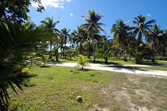 Väg på Aitutaki
