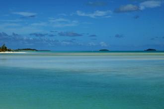 Motus, sett från Aitutaki