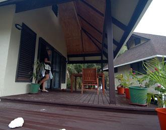 Dags att lämna vårt boende och Aitutaki