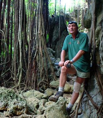 Vår guide - Atiu, Cook öarna