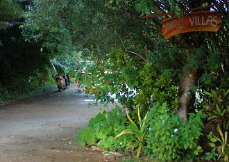 Infart till Atiu Villas, Atiu, Cook öarna