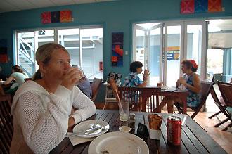 Café Salsa, Rarotonga - Cook öarna