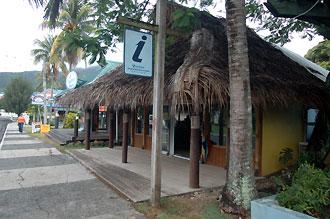 Turistinformation, Rarotonga - Cook öarna