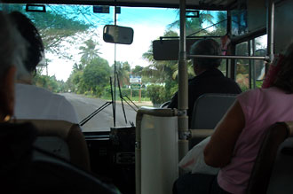 Buss, Rarotonga - Cook öarna